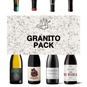 Pack botellas Granito